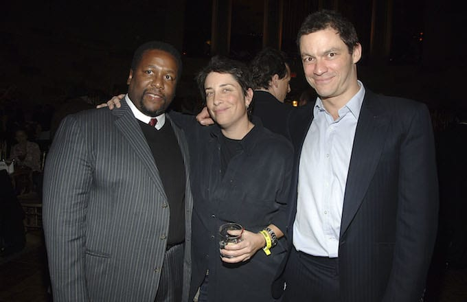 Wendell Pierce and Dominic West of 'The Wire.'