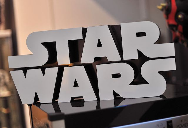 This is a picture of the Star Wars logo.