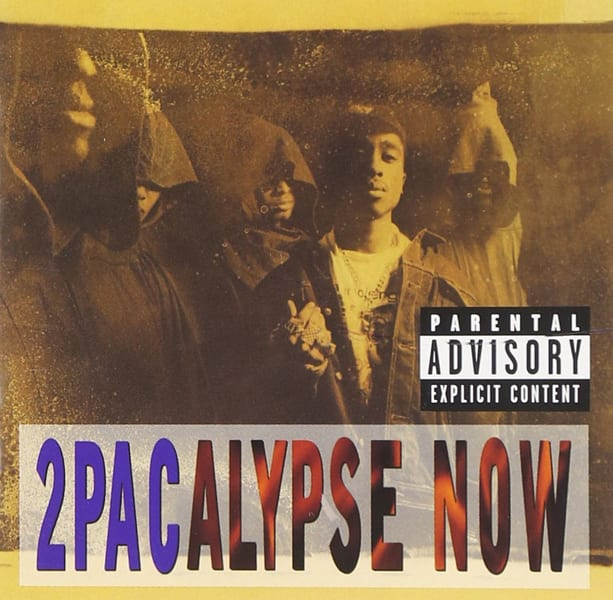2Pacalypse Now Album Artwork Tupac 2pac