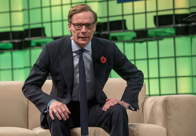 Alexander Nix CEO Cambridge Analytica