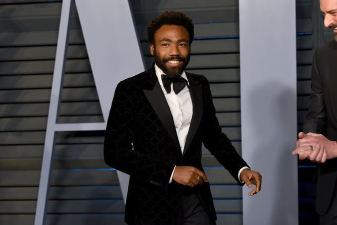 Donald Glover attends the 2018 Vanity Fair Oscar Party
