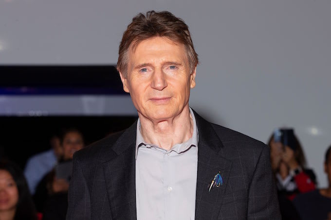 Liam Neeson in Toronto
