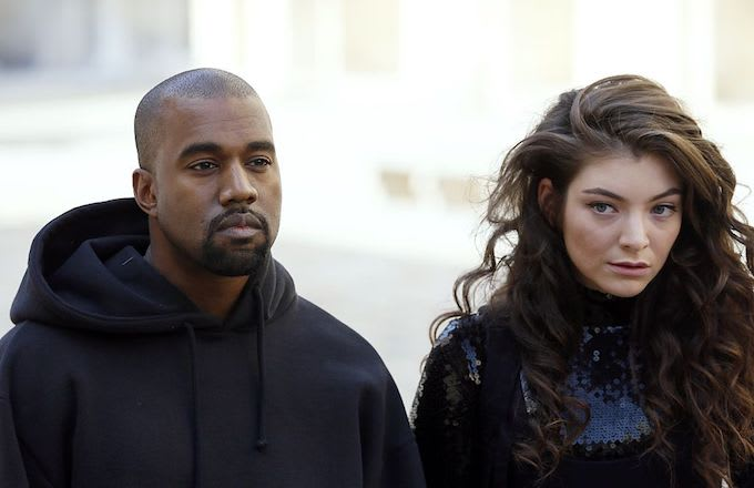 Lorde accuses kanye/kid cudi of stealing