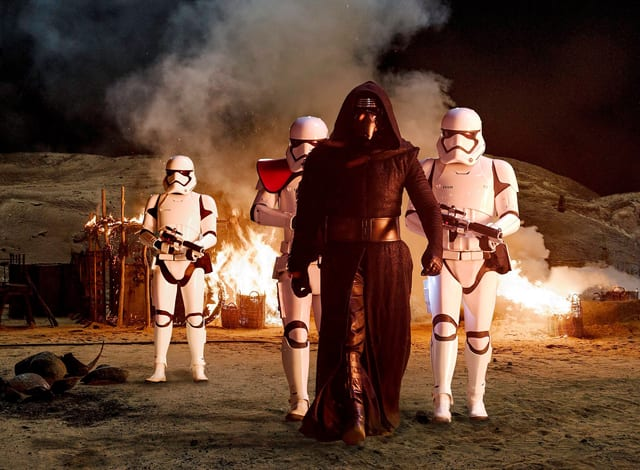 Kylo Ren in 'The Force Awakens'
