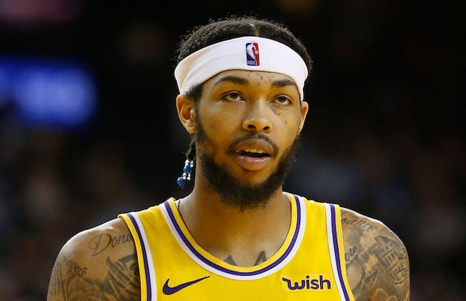 7b9c2c9c9281 Brandon Ingram Taunted With Chants of  Lebron s Gonna Trade You  During  Pacers Game