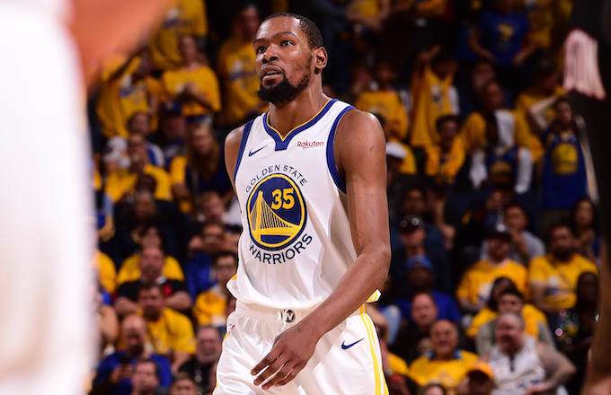 95c0738867f Kevin Durant Suffers Mind Strain on Right Calf in Game 5 Non-Contact ...