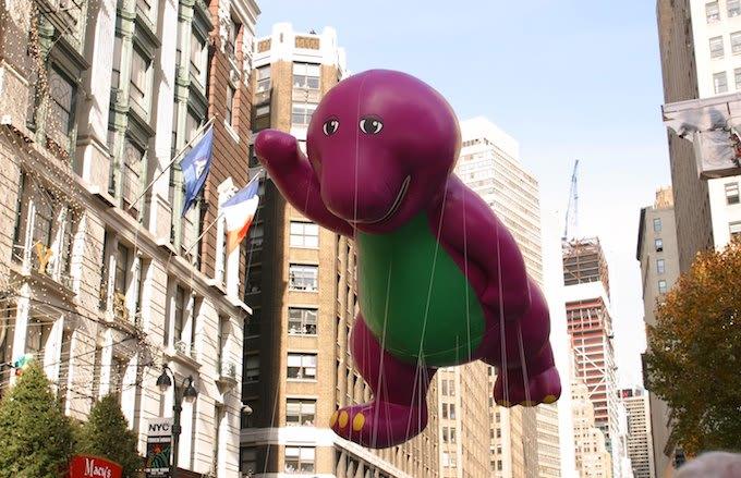 Barney float