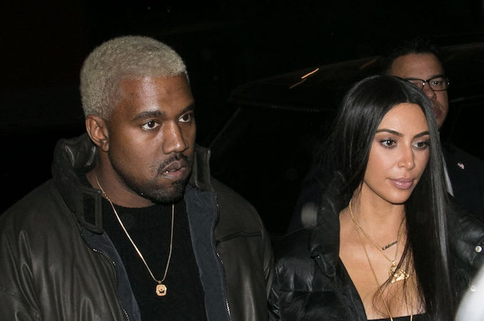 This is a picture of Kimye.