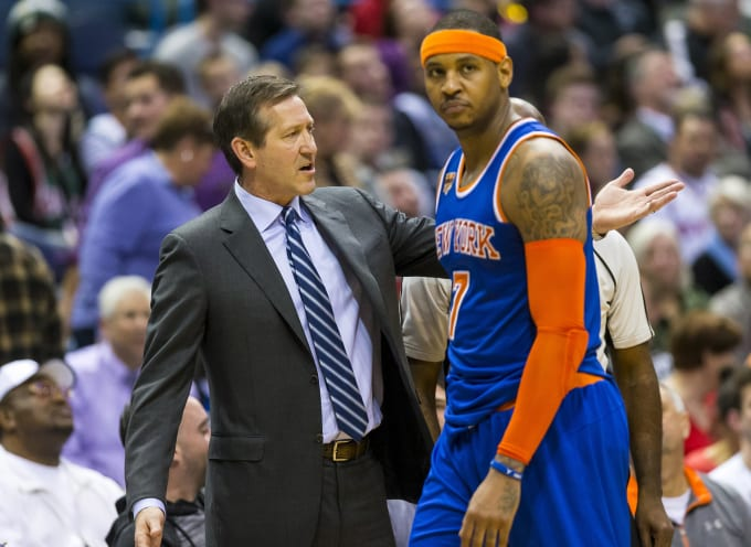 Carmelo Anthony Jeff Hornacek Knicks Bucks 2017