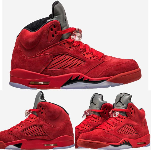 "Air Jordan V ""Red Suede"""