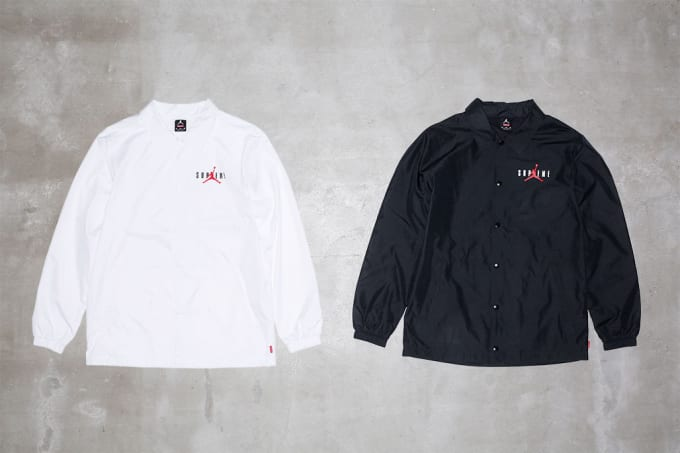 7f238d7d8c3eb9 Supreme x Air Jordan Apparel Collection Officially Unveiled