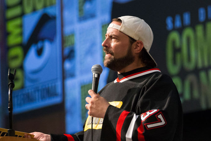 This is a picture of Kevin Smith.