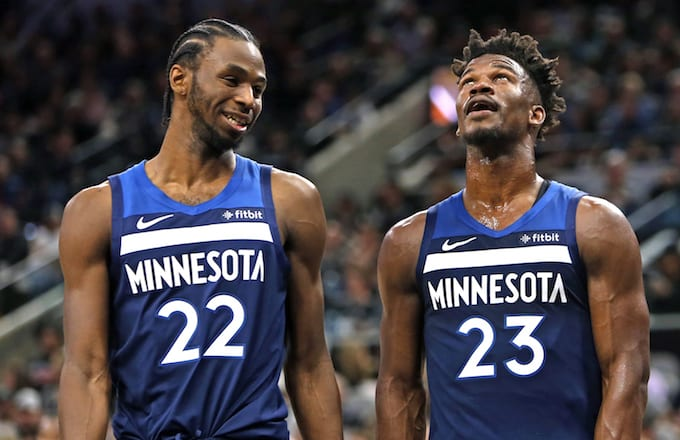 Andrew Wiggins Says Jimmy Butler Practice Drama  Wasn t That Bad ... 3a1014907