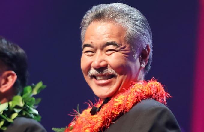Governor of Hawaii David Ige