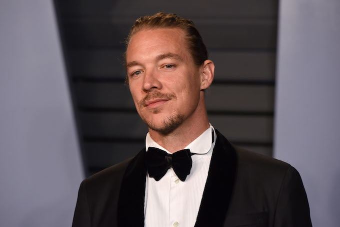 Diplo at an Oscar Party