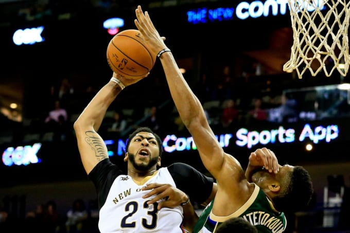 Anthony Davis dunk
