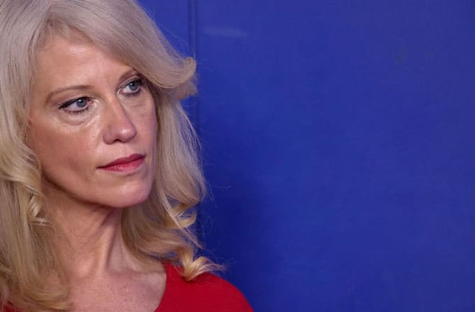 Kellyanne Conway Defends Trump's Lies: 'He Doesn't Think He's Lying'