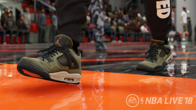 timeless design 4946c 33637 The  30,000 Undefeated x Air Jordan IV Is Going to Be in  NBA Live 18