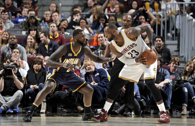 LeBron James vs. Lance Stephenson