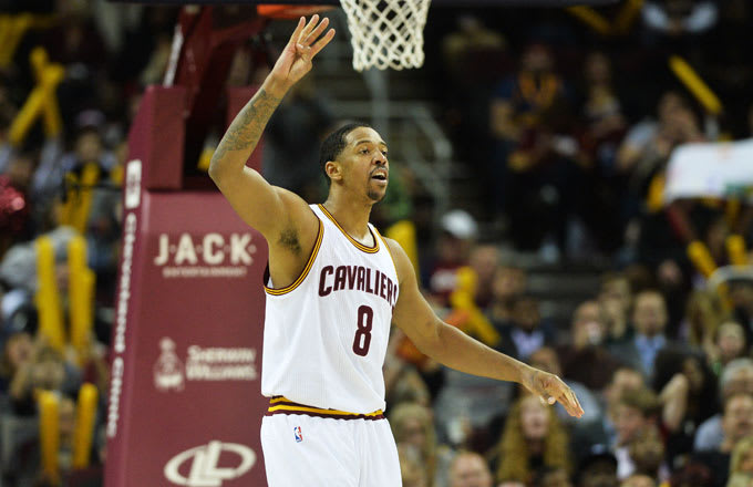 Channing Frye of the Cleveland Cavaliers.