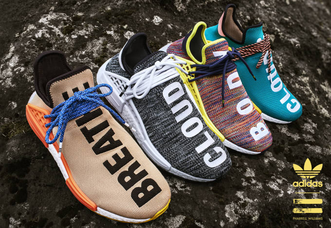 Adidas Originals x Pharrell Williams HU Hiking Collection