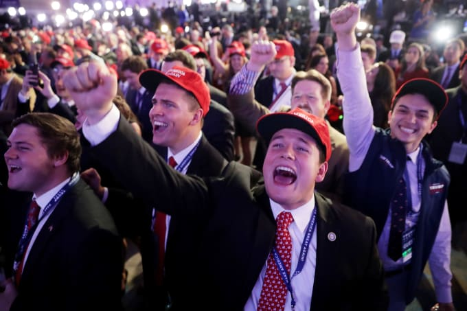 What It Was Like Being a Hillary Supporter at Trump\'s Election Night ...
