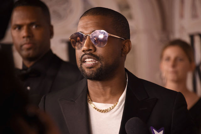 This is a picture of Kanye West.