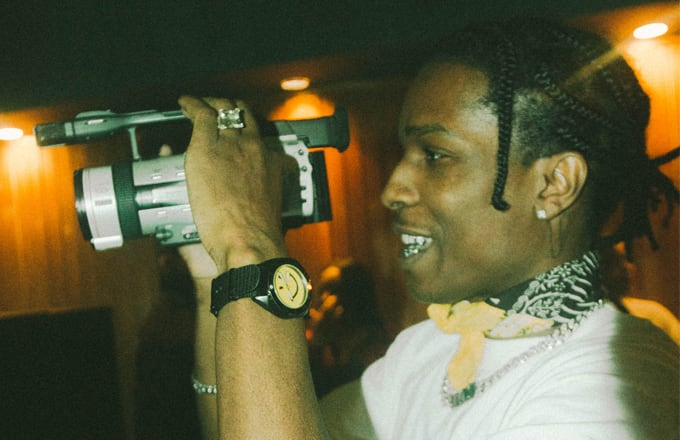 ASAP Rocky at Cozy Tapes, Vol. 2 Listening Session