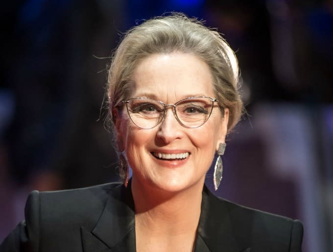 Meryl Streep attends 'The Post' European Premeire at Odeon Leicester Square