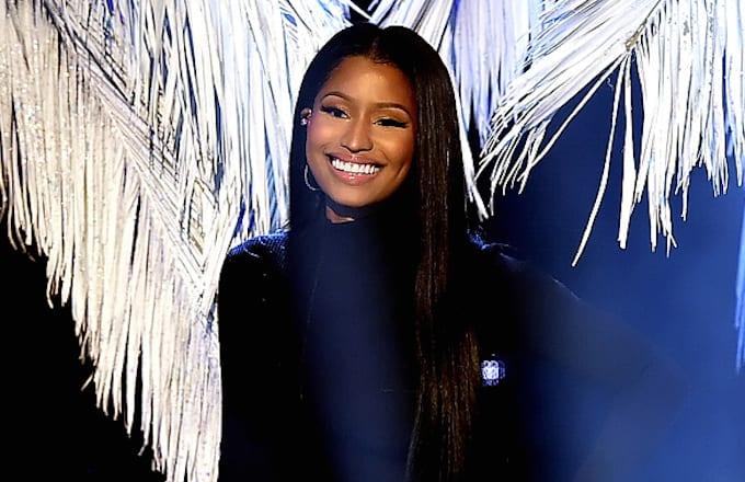 Singer Nicki Minaj performs onstage during the 2016 American Music Awards