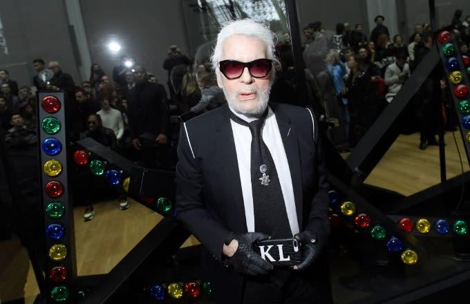 843e02c669 Image via Getty Victor Boyko Dior Homme. Karl Lagerfeld ...