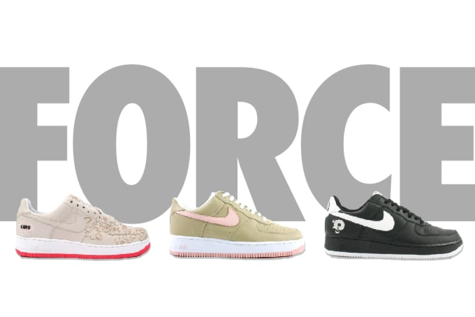 add87920bc5c30 Best Nike Air Force 1s of the 21st Century