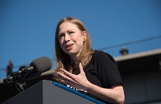 This a photo of Chelsea Clinton.