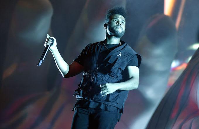 The Weeknd Kiss Land merch