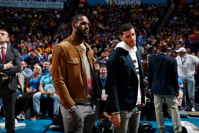 f9e7c8988f2 Lakers Young Players Reportedly  Lost Trust  In LeBron Following ...
