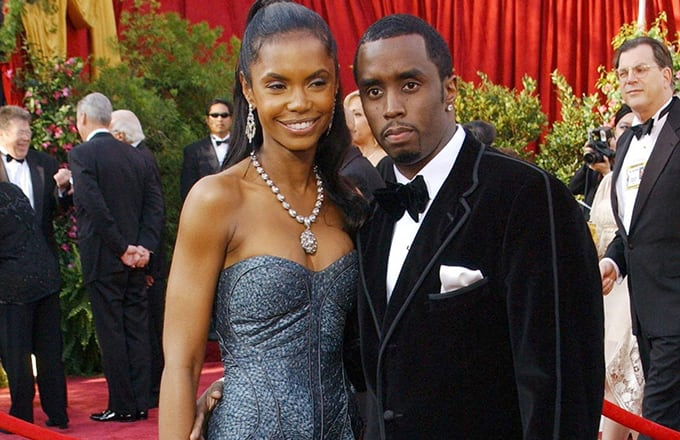 Kim and Diddy
