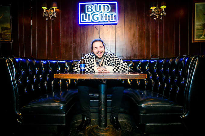 Post malone to perform on bud light dive bar tour complex post malone on the bud light tour aloadofball Gallery
