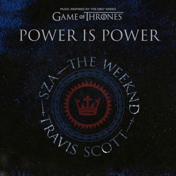 """Image result for SZA, THE WEEKND, TRAVIS SCOTT – """"POWER IS POWER"""""""
