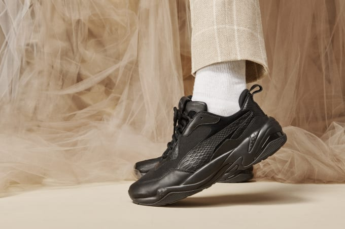 The PUMA Thunder Desert Is Dropping in Monochrome Glory  6e31560e4