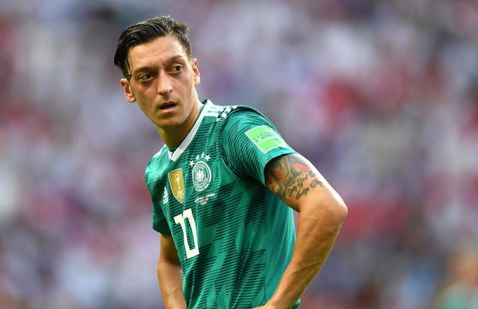 Mesut Özil  german soccer