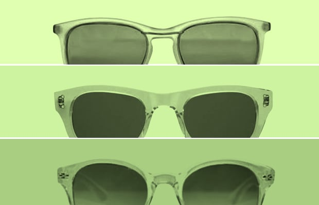 8cd561402b The 10 Best Clear Frame Sunglasses for Summer 2011