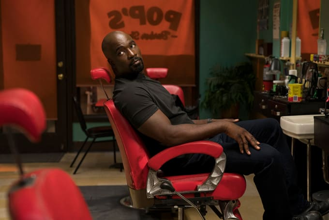 Production still from Luke Cage Season 2