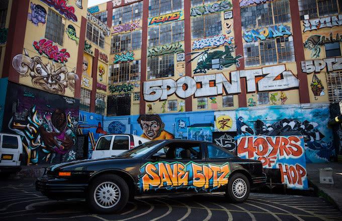 5 Pointz Building