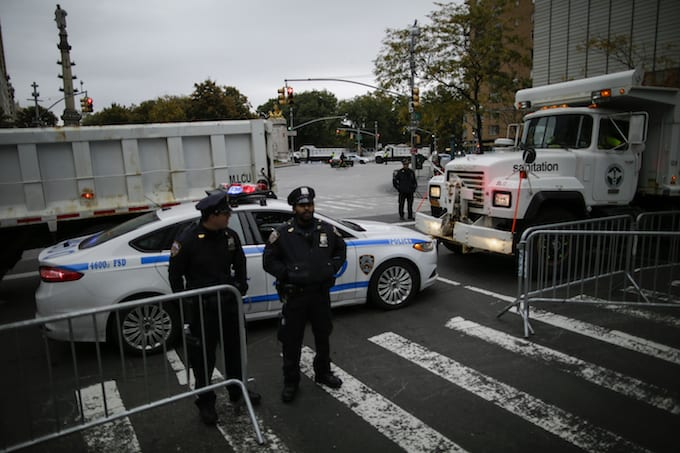 Police in NYC