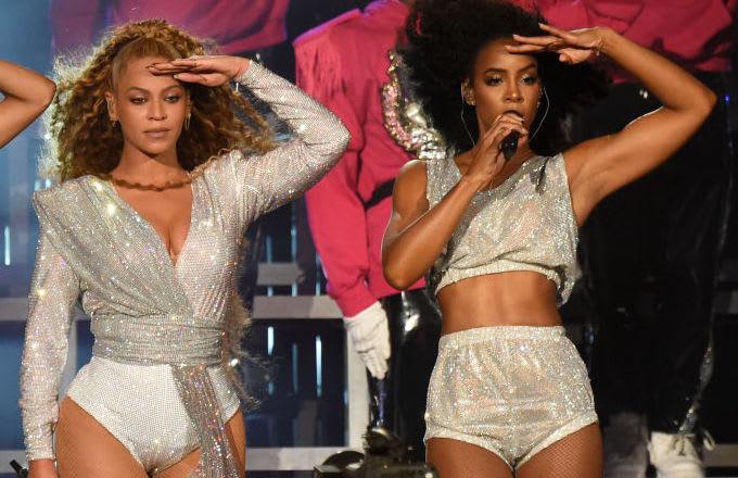 Beyonce Kelly Rowland