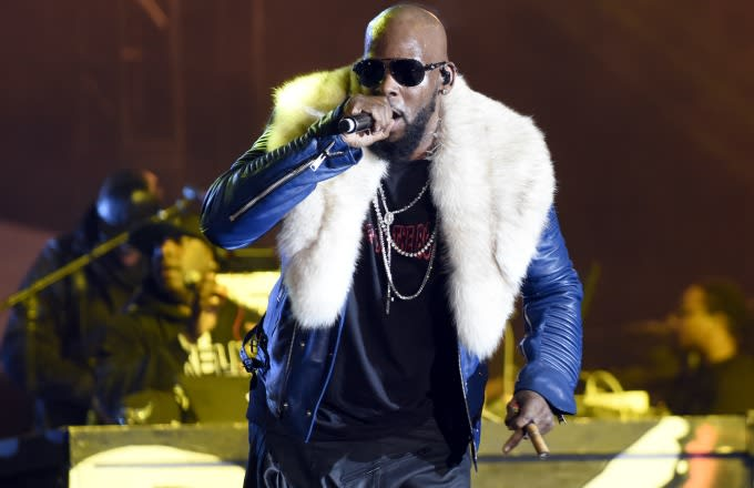 R Kelly caught in 'sex' cult allegations
