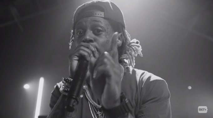 Lil Wayne BET Cypher
