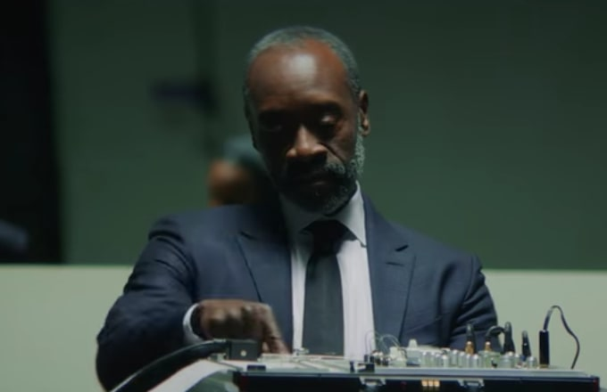 "Don Cheadle in Kendrick Lamar's ""DNA"" Video"