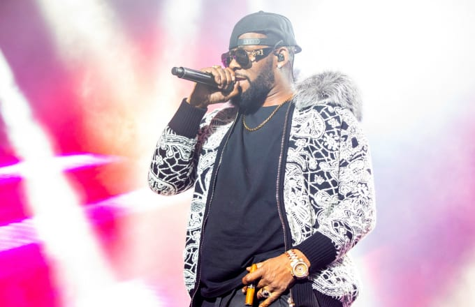 R. Kelly performs at Little Caesars Arena