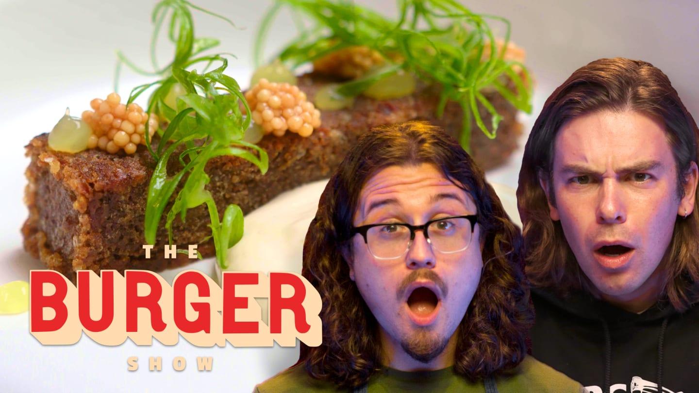 Joshua Weissman Makes Cody Ko a Crazy Fine-Dining Burger | The Burger Show
